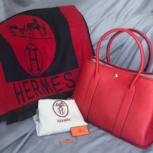 Hermes Garden Party and scarf